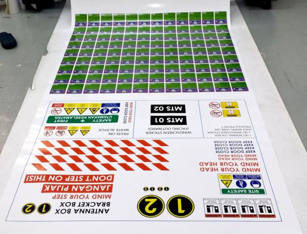 White sticker eco solvent printing malaysia inkjet printing digital inkjet printing malaysia sticker printing malaysia